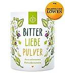 BitterLiebe Bitterstoffe Pulver 100g mit Ingwer Kurkuma Pulver I Smoothie Pulver und Superfood für viele leckere Rezepte I Bitterkräuter Greens Powder