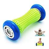AIWOIT Fußmassagegerät, 2er-Pack Massagerolle zur Linderung von Plantarfasziitis und zur Wiederherstellung der Akupressur bei tiefem Gewebe, entspannen Sie den Fuß-, Bein- und handfesten Muskel