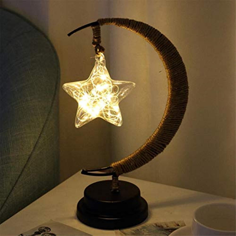 Nachtlicht Pentagram-Dekoration Einfaches Ins Nachtlichtsternlichtschalter-Weiches Lichtdekorationstischstudentenschlafsaalhauptschlafzimmer
