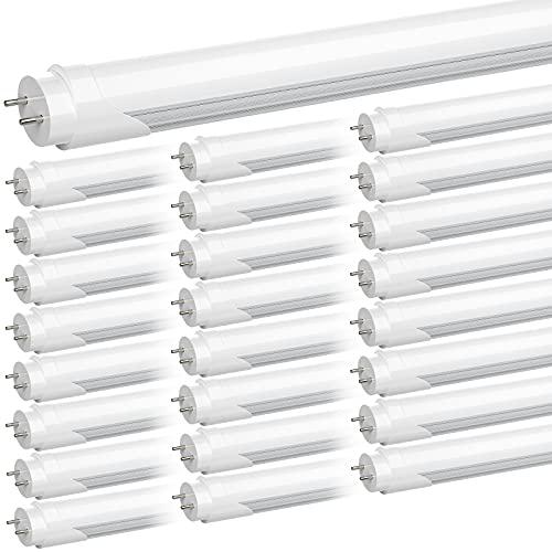 JESLED 4FT T8 LED Tube Light Bulbs,…