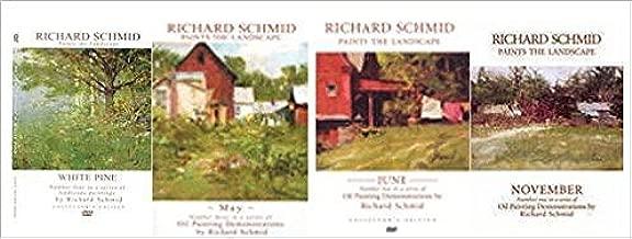 Richard Schmid Paints the Landscape Collection - White Pine, May, June, & November - 4 DVD SET