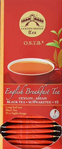 Almar Golden Bridge Premium Tea O.S.T.B - English Breakfast - 30 Teefilter, 66 g