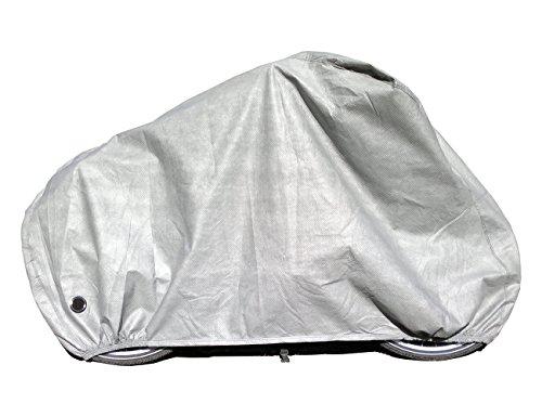 """Car-e-Cover Fahrradabdeckplane Fahrradabdeckung Fahrradgarage 100{d553542f5344398e2ff23ecb80cbc6bab2186c42b75582c102a69dd0d4cc101b} wasserdicht für 26\"""" und 28\"""" Fahrräder"""