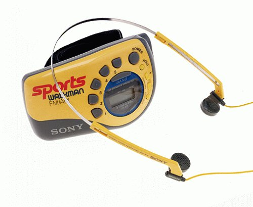 Sony Portable Sports AM/FM Radio (SRF-M78)