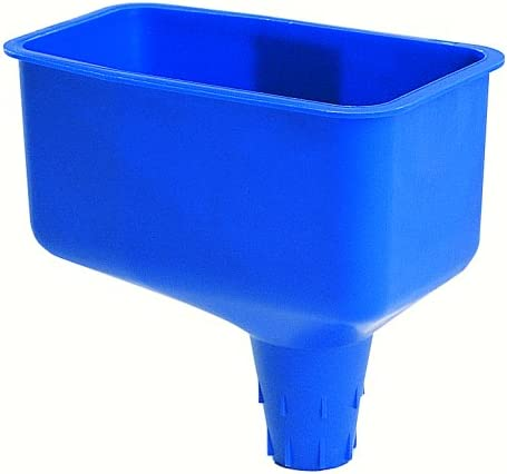PACK OF 2 Fuel funnels AVOID CROSS CONTAMINATION,1x blue,1x black