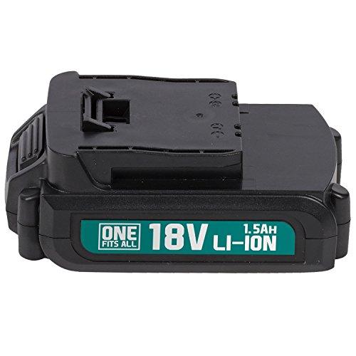 Powerplus POWEB9010 POWEB9010 - Batteria 18 V al litio, 1,5 Ah