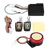 Esenlong Sistema de Alarma de Seguridad Antirrobo de La Motocicleta Control Remoto 1Set