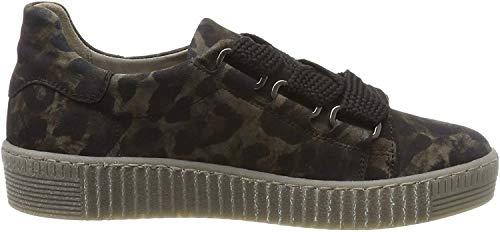 Gabor Shoes Damen Jollys Sneaker, Grau (Anthrazit (Fumo) 39), 38 EU