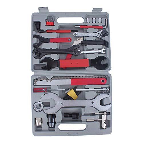 Kit de reparación Manual multifunción, Kit de Herramientas de reparación de Bicicletas, Kit de Herramientas de Manguito de Llave 44 / Juego -
