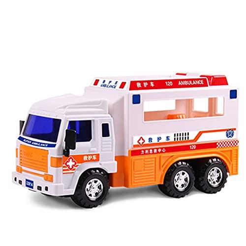 Xolye Trägheit vorwärts Keine Batterie Große Spielzeugauto Offene Tür Ambulanz Modell Kinder Junge pädagogische Spielzeug Auto Geschenk