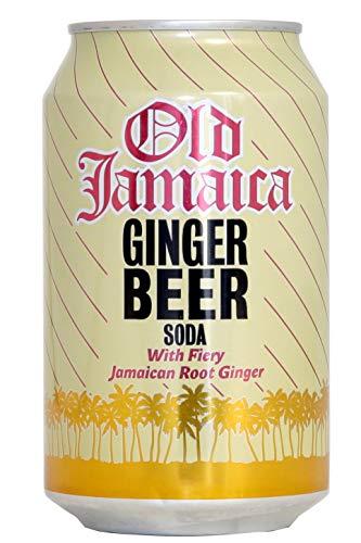 Old Jamaica - Getränk mit Ingwerbier-Geschmack -330ml - Alc.: 0%
