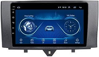 Android Car Stereo GPS Navigator无线电头单元Benz Smart 2011-2015兼容的镜像链接/ SWC/蓝牙/USB/Wifi/DAB/AUX,4core 4G + WIFI 1 + 16G