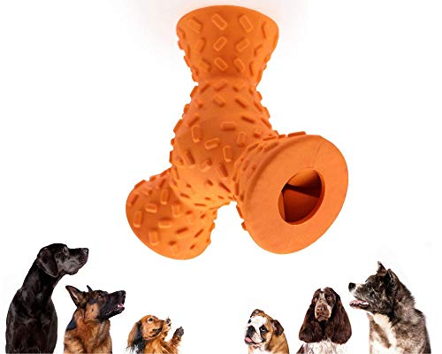 interactive dog toys HST Interactive Dog Toy - Home Dog Toy, Treat Dispensing Dog Toys, Juguetes para Perros, Best Treat Toy for Dog, Hardest Chew Puzzle Toy for Dogs, King Kong of Dog Toys