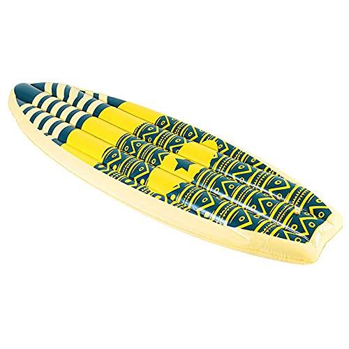 YUN Flotadores Piscina Inflable Colchoneta - Juguete Hinchable Piscina,PVC Adecuado para Piscinas de Verano y Playa para Adultos y Niños colchoneta Piscina