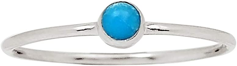 Xtremegems Smithsonite 925 Sterling Silver Ring Jewelry Size 7 27129R