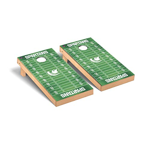 Michigan State Spartans Regulation Cornhole Game Set Football Version