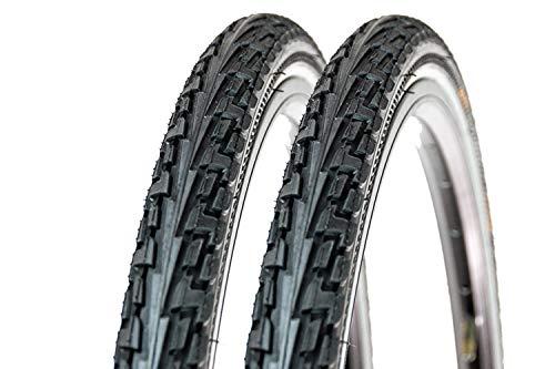 2 Stück 28 Zoll Continental Ride Tour Fahrrad Reifen 37-622 Mantel E-25 Tire 700-35C Reflex Streifen