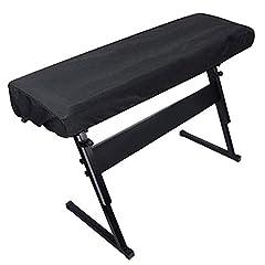 GreeSuit Klaviertastatur-Abdeckung, Klavier-Staubschutz mit Kordelzug-Verriegelungsverschluss