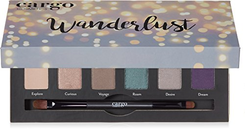 Cargo Wanderlust Eye Shadow Palette, 0.35 lb.