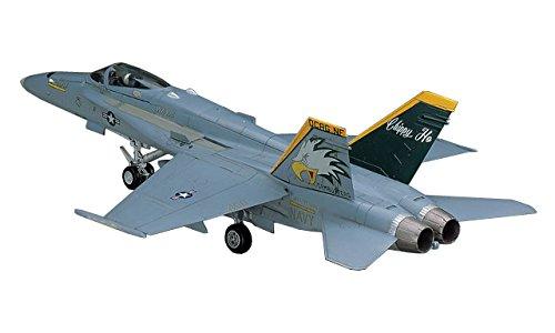 ハセガワ 1/72 アメリカ海軍 F/A-18C ホーネット プラモデル D8
