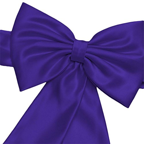 Satin Flower Girl Sash with Back Bow Style S1041, Regency