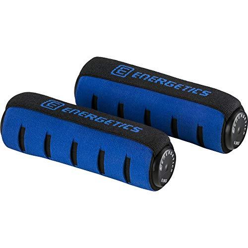 ENERGETICS Soft mit Handschlaufe Hantel, Schwarz/Blue, One Size