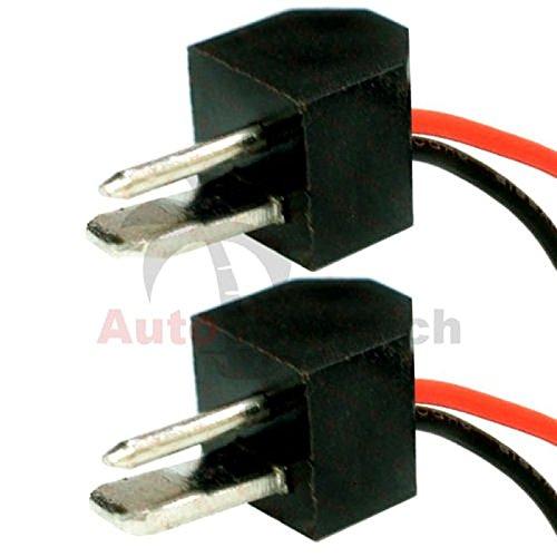 AutoScheich® DIN Lautsprecher Adapter Stecker Kabel Set für Oldtimer Youngtimer Autoradio Radio