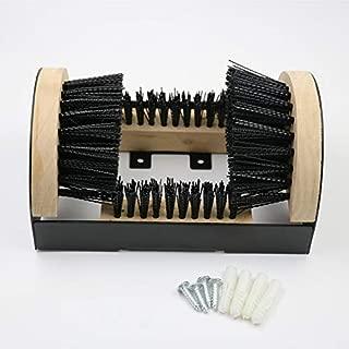 Dee-Type Bilt Folding Boot Scraper All Weather Indoor & Outdoor Shoe Cleaner & Scraper Brush