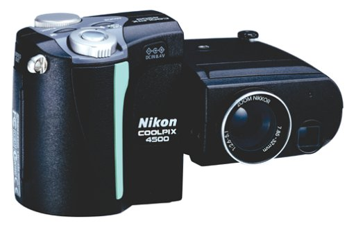 Nikon Coolpix 4500 4MP Digital Camera w/ 4x Optical Zoom