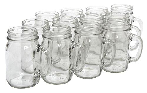 Mason jar mugs