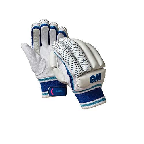 Gunn & Moore Unisex-Jugend-Handschuhe Sirene Cricket, Cricket-Handschuhe, 51682016, weiß/blau, Youth LH