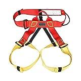 Escalada Supervivencia Set, consta de 6 piezas 10m del Consejo de Medio arnés de seguridad Seguridad de carga mosquetón Rappel Equipo de la cuerda for cuerdas de escalada de descenso de senderismo 915