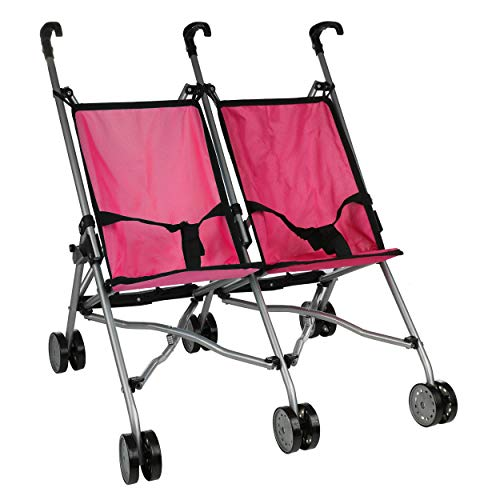 Mommy & Me Doll Collection Twin Doll Stroller S9313