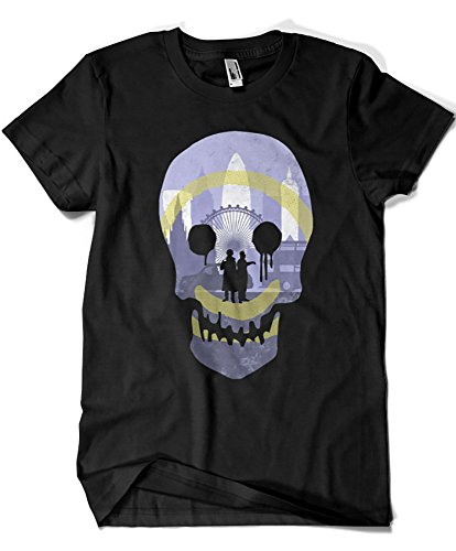 946-Camiseta Sherlock Holmes - London Detecting (Arinesart)