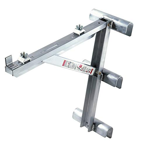 Werner AC10-20-03 - 3 Rung Aluminum Long Body Ladder Jacks, Pair