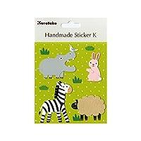 HANDMADE STICKER K ANIMALS2