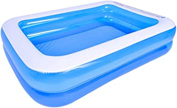 DAS LEBEN Piscina inflável, tamanho completo espesso para a família inflável para crianças, crianças, adultos, bebês, ao a...