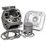 Easyboost Kit Cylindre 50 Fonte pour MBK Booster Culasse Piston Bi-segments Type...