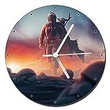 The Mandalorian Pedro Pascal Baby Yoda Reloj de Pared Wall Clock 20cm