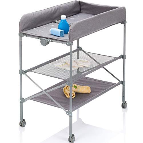 Mobiler Wickeltisch/Wickelkombi/Wickelauflage (Klappbar und höhenverstellbar)