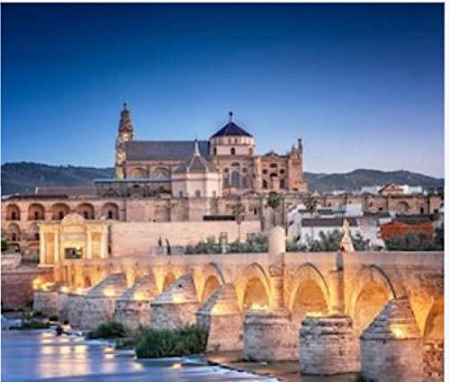 Puzzles 1000 Piezas Adultos Juegos De Madera Puente Romano Y Río Guadalquivir Gran Mezquita Córdoba España Regalo Personalizado