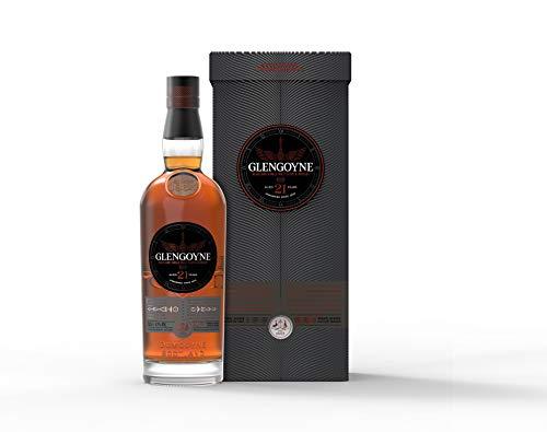 Glengoyne 21 Jahre Single Malt Scotch Whisky mit Geschenkverpackung (1 x 0,7 l)