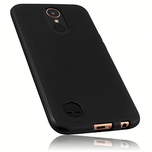 mumbi Hülle kompatibel mit LG K10 2016 Handy Hülle Handyhülle, schwarz
