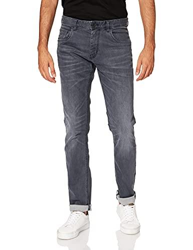 TOM TAILOR Herren Josh Slim Jeans, Grey Denim 102, 32W / 30L