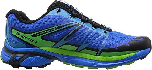 Salomon Wings Pro 2 - Zapatillas de Entrenamiento Hombre, Azul (Bright Blue/Black/Tonic...