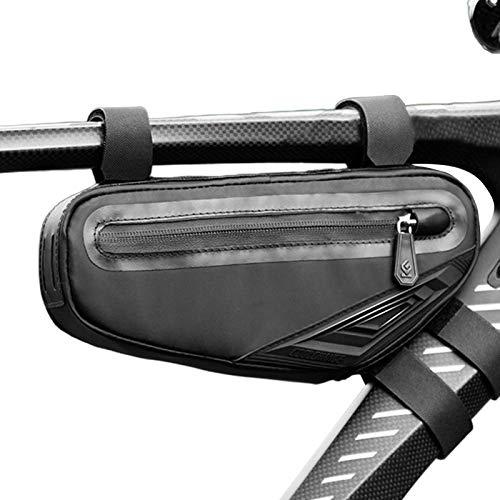 Alforja para bicicleta, bolsa para sillín de bicicleta, impermeable, bolsa de almacenamiento para bicicleta MTB Bike Pannier