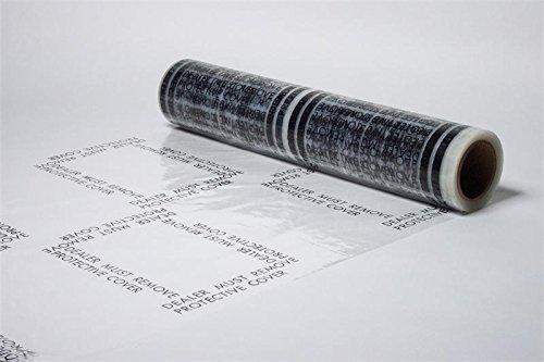 Auto Adhesive Floor Mat 24x600 (24x600ft) 4 mil.