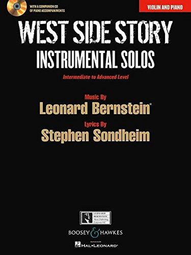 West Side Story: Instrumental Solos. Violine und Klavier. Ausgabe mit CD.