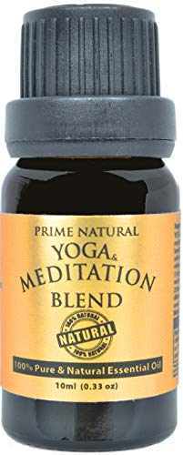 Yoga &Amp; Meditation Essential Oil Blend 10Ml - 100% Natural Pure Undiluted Therapeutic Grade For Aromatherapy Scents &Amp; Diffuser - Natural Remedy For Anxiety &Amp; Depression Relief, Calming &Amp; Soothing