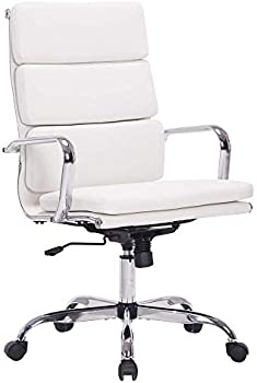 Sidanli White Ergonomic Office Chair for Company or Home
